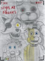 Five Nights at Freddie's - We're Waiting by Megabitron