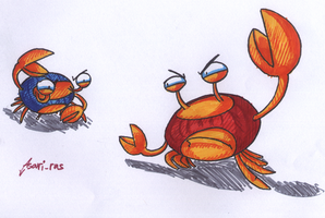 Spy Crabs by Asari-rus