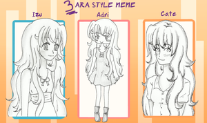 3 ARA style meme by Neridy