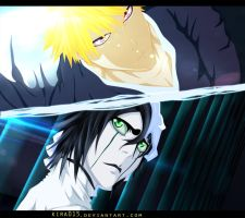 Ichigo vs Espada 4 by Kira015