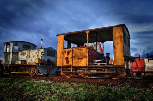 Old Trains Part III by daenuprobst