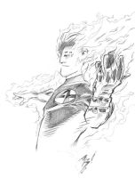 Human Torch by adr-ben