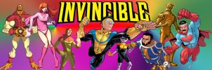 Invincible Comic Banner by SIDNEYG