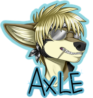 Axle Badge by SaaraBlitz