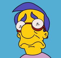 Sad Milhouse by WVS1777