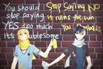 YES NO by NayukiMarcia