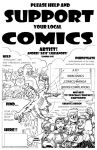 Support Comics Ad for A818 by AL-818