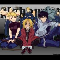 Fullmetal Alchemist by peppermix14