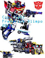 Optimus Prime by frederickofolympus
