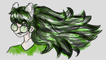 Ponytail Jade by pondkid