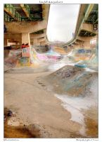 late fall skate park ver 2 by yellowcaseartist