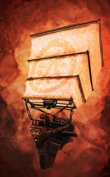 The Airship by Tryingtofly