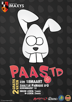 easter party poster by denzoo