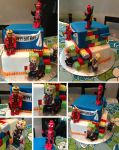 Marvel Lego Cake by Keep-It-Sweet