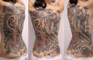 woman backpiece healed by graynd