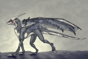 Skullface Draconic by Anuwolf