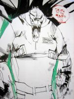 Killer Croc by JimMahfood-FoodOne