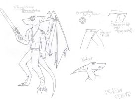 Flamerdrone character sheet... by dragonfiend