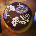 Ganache Flourless Cake with Decoration by EEPoageCakes