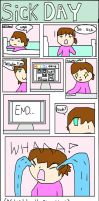 SICK DAY personl comic 1 by matisse77