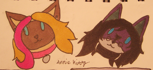 Chibi head shots by anne-t-cats