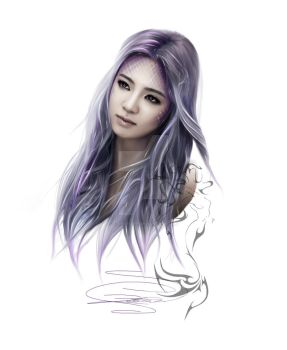 ~SNSD: Hyoyeon as a beautiful mermaid~ by z-jihye-lee