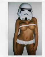 STORMTROOPER FULLY LOADED by SexyPolaroid