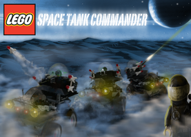 LEGO Space Tank Commander by mrmanders