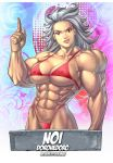 Muscle Noi by Bokuman by elee0228