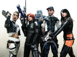 Mass Effect Team by IssssE
