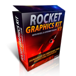 Rocket Graphics Kit v3 by freegraphicpack