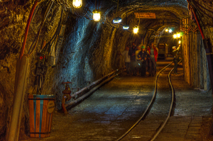 Salt Mine Passage by marrciano