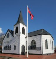Norwegian Church, Cardiff Bay by nectar666