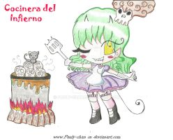 Cocinera del infierno 2 by Pauly-chan