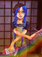 Sachi - Colours of Creativity by Dradra-Trici