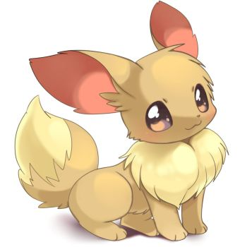 EEVEE IS SO CUTE by BobalobLOLLOL
