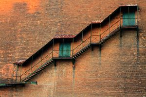 Upstairs Downstairs by AmberZ-ArtThings