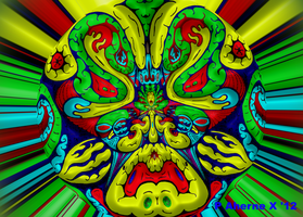 Orb Totem Abstract by Lasercrew420