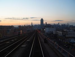 A lovely view of the skyline by Brooklyn47