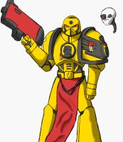 imperial fist by hugopcc