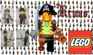 LEGO Captain Redbeard by BrunoPigh