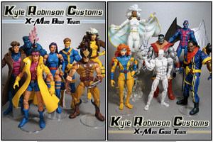 Kyles Jim Lee X-Men Team Shots by KyleRobinsonCustoms