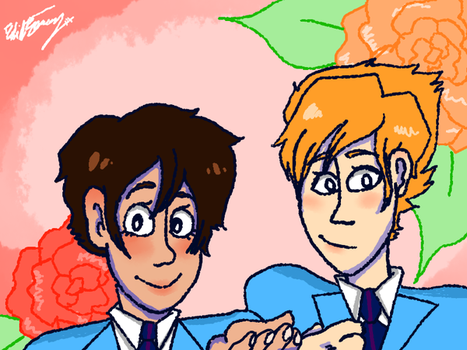 my faves from ouran by requinamour