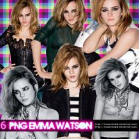 Pack 2 Emma Watson PNG by oscarelnoble