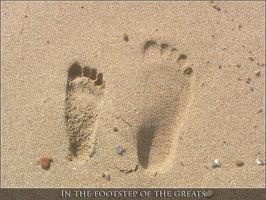 In the footstep of the greats by blas3nik