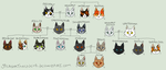 Greystripe's family tree (CONTAINS SPOILERS) by JocastaTheWeird