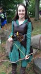 Tauriel Costume with Corset by sazame-kusaka