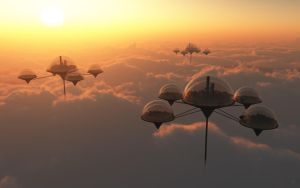 Over the Clouds with Eco-Domes by GiulioDesign94