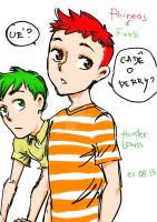 Phineas and Ferb by Lowis13