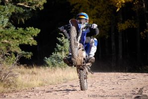 Wheelie at Terry Flats by Tsitra360